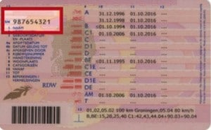 Rijbewijs oud